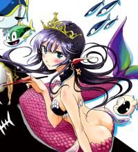 The Mermaid Princess's Guilty Meal