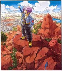 Dragon Ball Digital Colored
