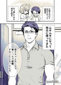 Osananajimi ga Hisabisa ni Saikai Shitara Otagai Kyonyuu ni Natteta