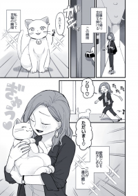 Office Lady and Cat