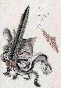 Cat Swordsman
