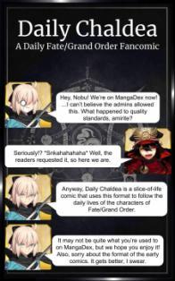 Fate/grand Order - Daily Chaldea